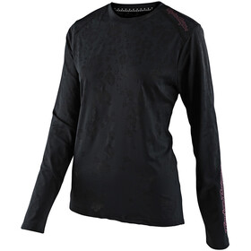 Troy Lee Designs Lilium Longsleeve Jersey Dames, floral black